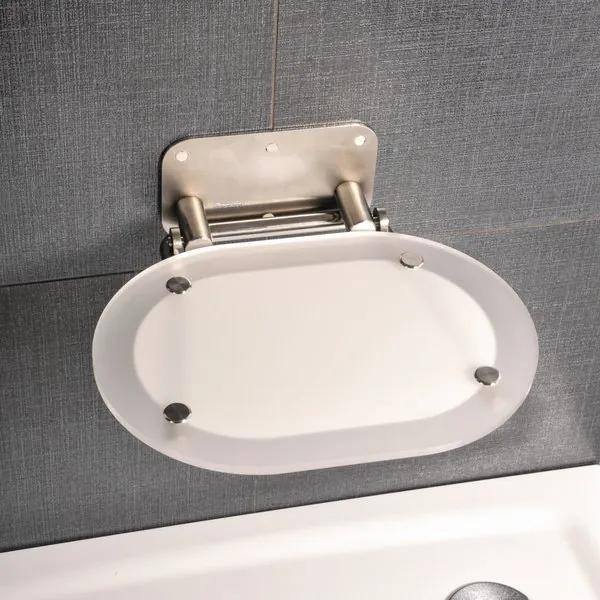 Ravak sedátko do sprchy Chrome s antikórovou konštrukciou