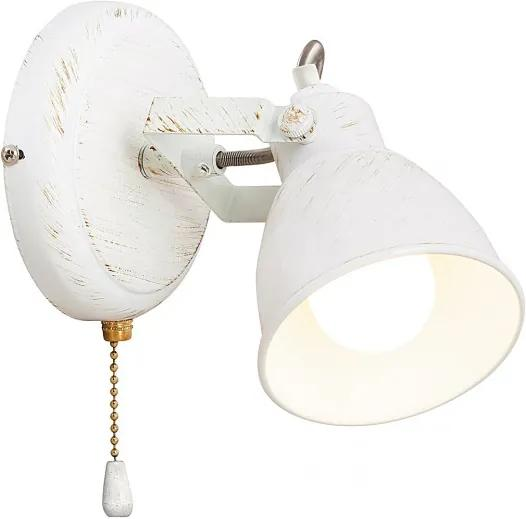 Rábalux 5966 Nástenné Lampy na Čítanie antická biela antická biela E14 1X MAX 15W 19 x 16 x 12 cm