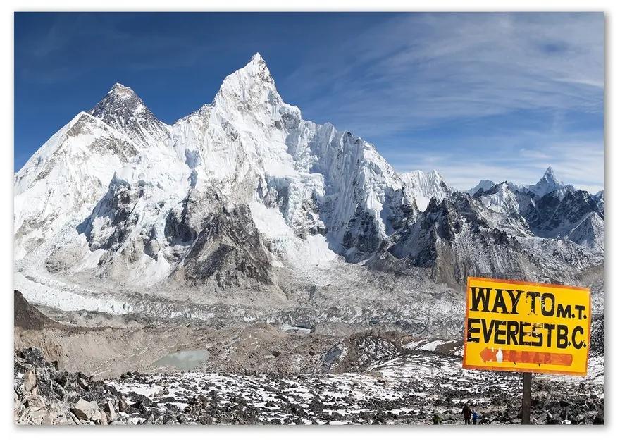 Fotoobraz na skle Hora Everest pl-osh-100x70-f-95403149