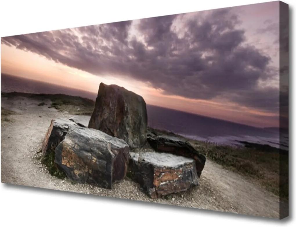 Obraz na plátně Sklenený Skala Príroda