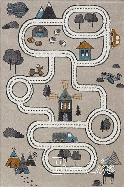 Sintelon koberce Kusový koberec Vegas Kids 01/EKE - 120x170 cm