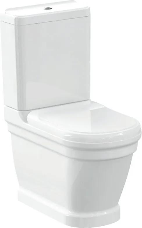 Antik WCset08 kombi WC,zadný odpad