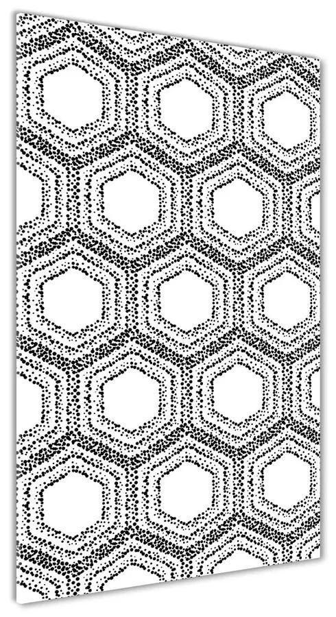 Foto obraz akrylové sklo Geometrické pozadie pl-oa-70x140-f-123444558