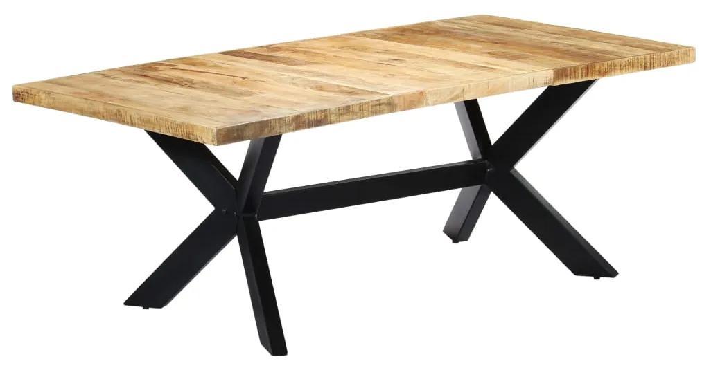 vidaXL Jedálenský stôl 200x100x75 cm masívne mangovníkové drevo