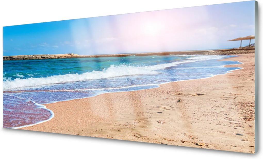 Obraz na skle Oceán Pláž Príroda