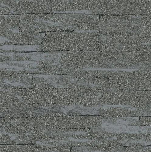 Vliesové tapety na stenu 58416, rozmer 10,05 m x 0,53 m, Brique 3D ukladané kamene tmavo sivé s výraznou štruktúrou, Marburg