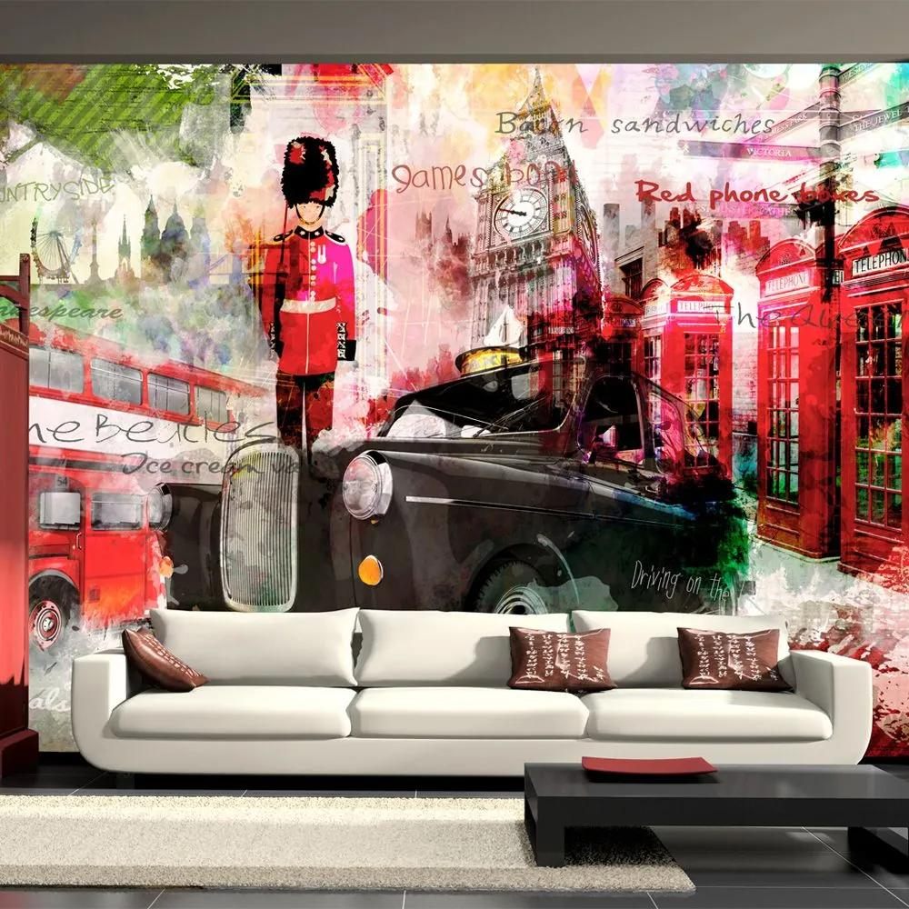 Fototapeta - Streets of London 350x245