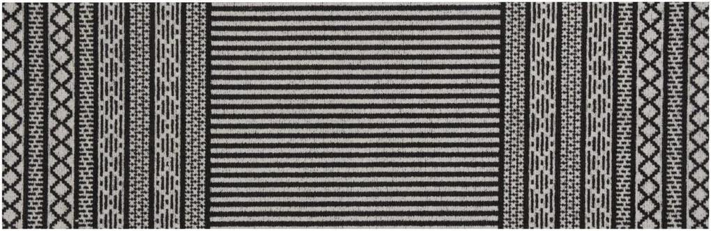 Zala Living - Hanse Home koberce Běhoun Lani 60x180 Cook & Clean 103363 black - 60x180 cm