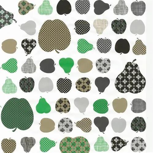 Samolepiace fólie jablká zelené, metráž, šírka 45cm, návin 15m, GEKKOFIX 12850, samolepiace tapety