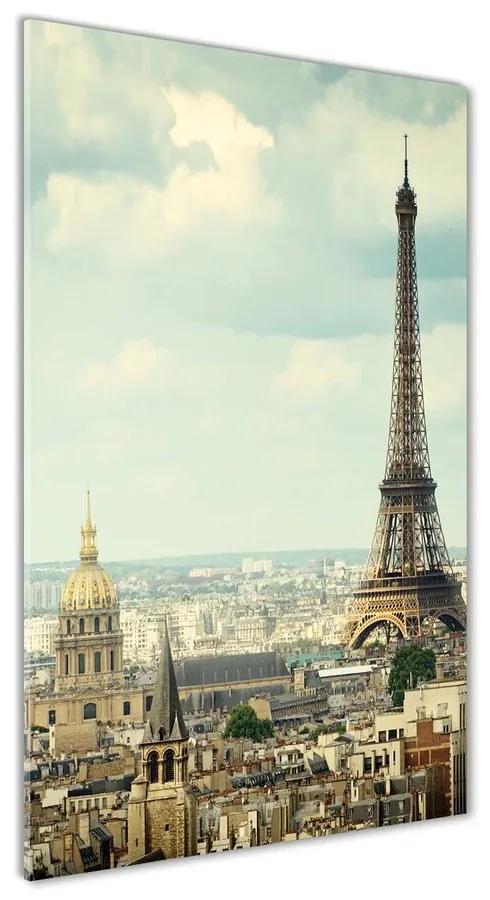 Foto obraz akrylový Eiffelová veža Paríž pl-oa-70x140-f-120415657