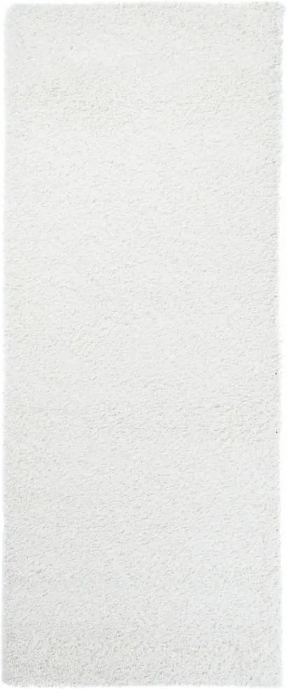 Kusový koberec Faustino biely atyp, Velikosti 70x250cm