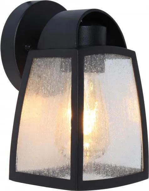 Lutec KELSEY 5273701012 Vonkajšie Nástenné Lampy čierny