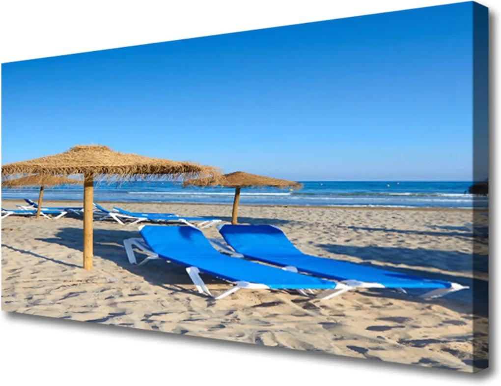 Obraz Canvas Pláž moře krajina