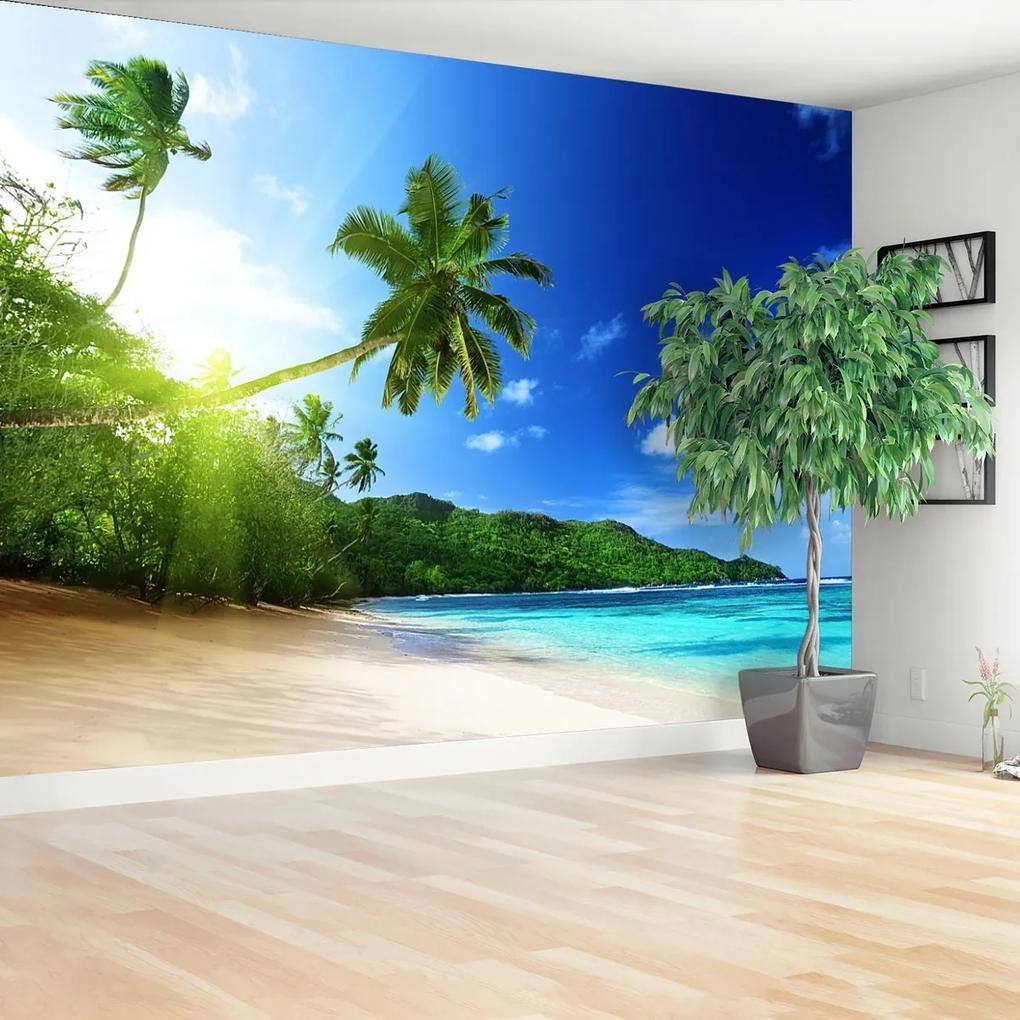 Fototapeta Pláž na Seychelách