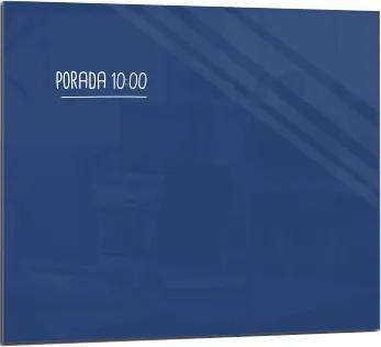 Toptabule.sk SMTM Sklenená magnetická tabuľa modrá 100x70cm