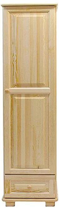 AMI nábytok skříň 1Dč1 borovice věšák
