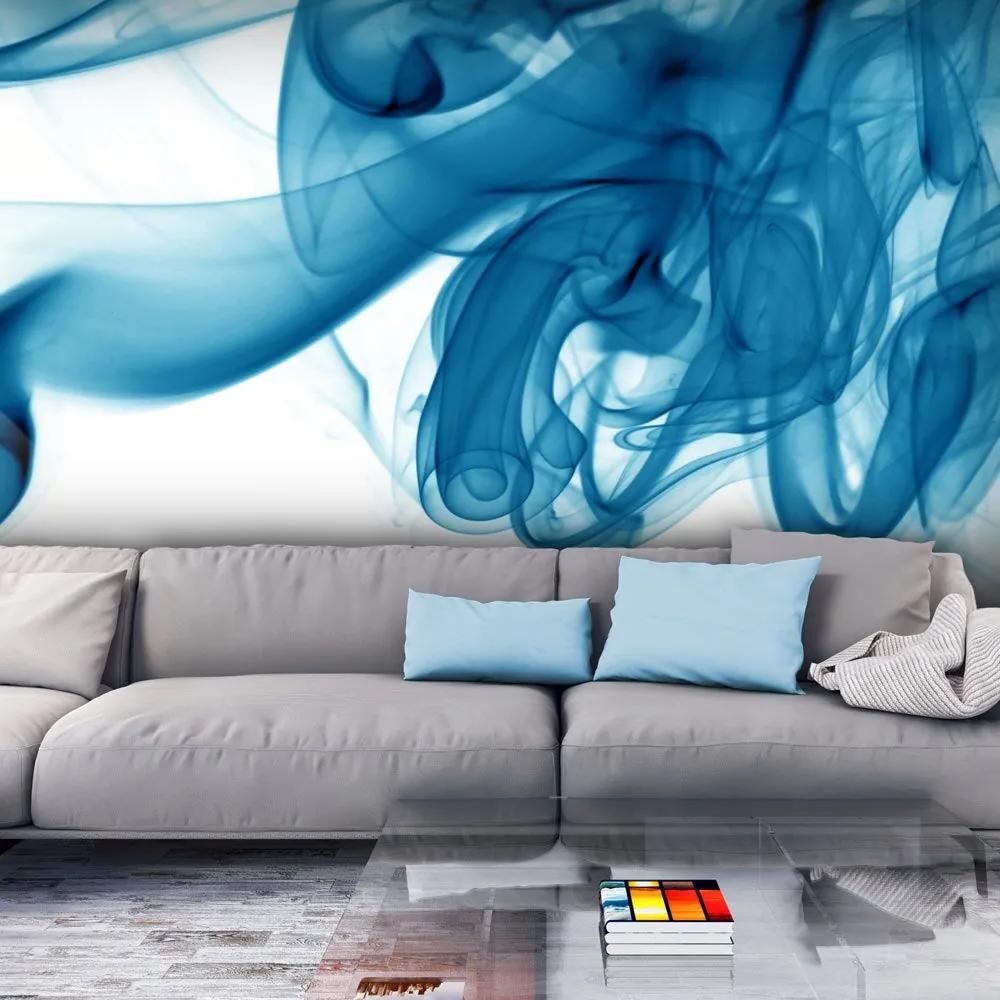 Fototapeta - Blue smoke 200x154