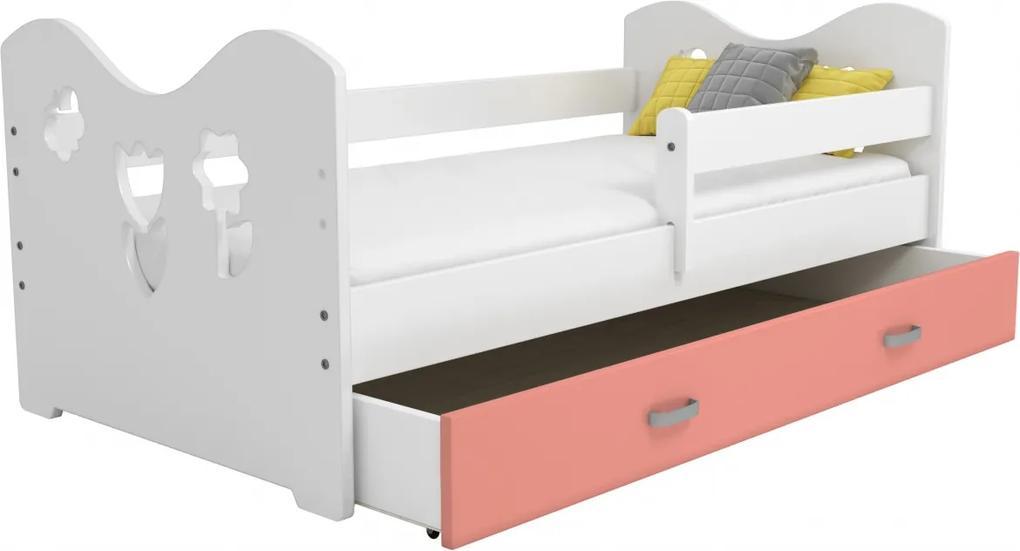 AMI nábytok Dětská postýlka Mája M2 80x160 bílá