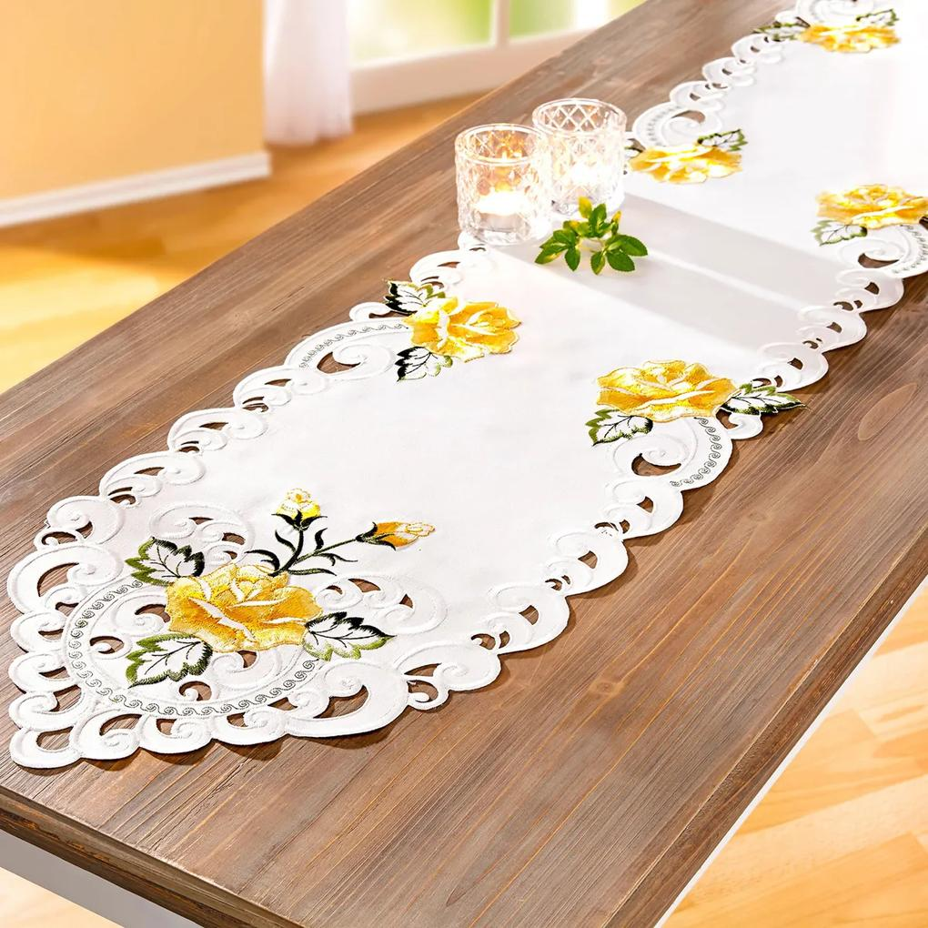 Behúň na stôl Ruža, 32 x 168 cm
