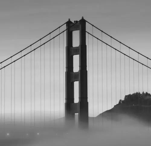 Luxusné vliesové fototapety, rozmer 279 cm x 270 cm, San Francisco, P+S International CL40B