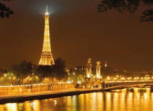 Fototapety, rozmer 254 x 184 cm, Eiffelova vež, Komar 4-321