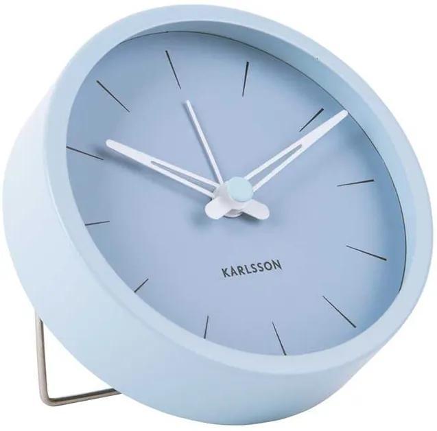 KARLSSON Budík Lure S modrá - zl'ava 20% (VEMZUDNI20)