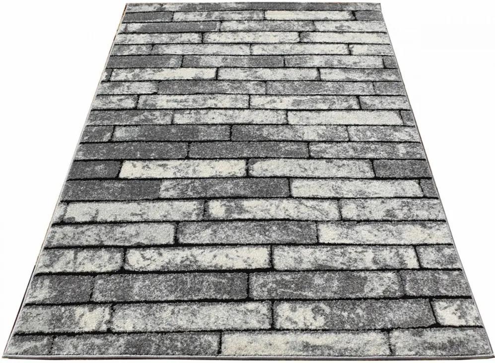 Kusový koberec Ralf šedý, Velikosti 120x170cm
