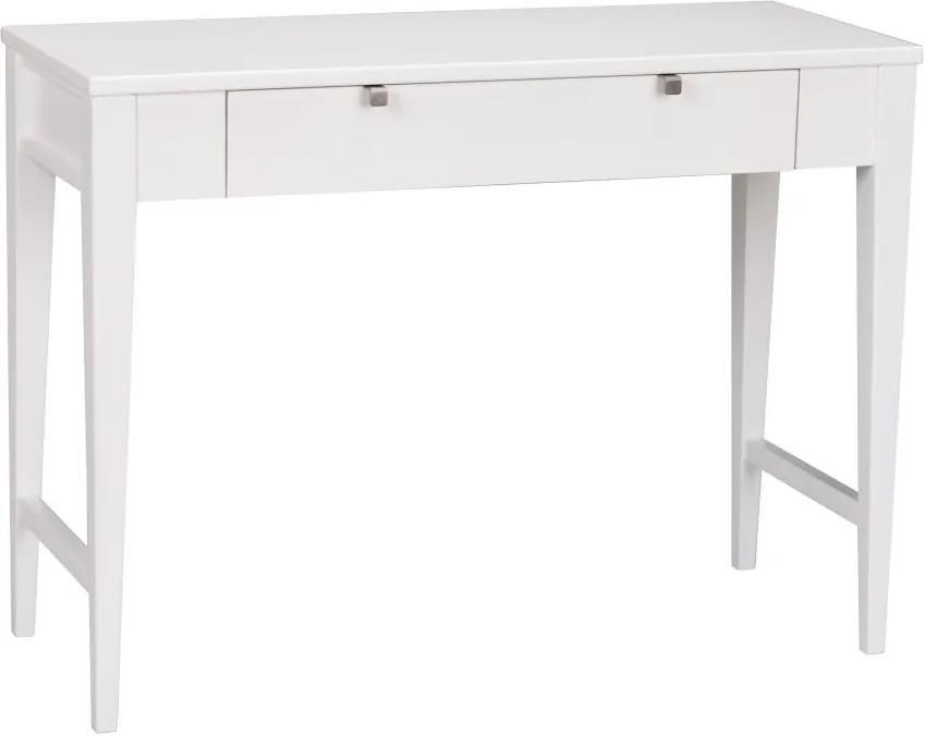 Biely konzolový stolík Rowico Fulla
