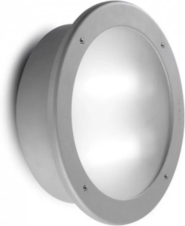Leds-C4 DALTON 05-9467-34-B8 Zápustné Svietidlá do Zeme sivý sklo 2xG24d-3 max. 18 W IP54