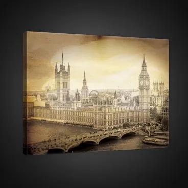 Obraz na plátne obdĺžnik - OB0943 - Londýn 100cm x 75cm - O1