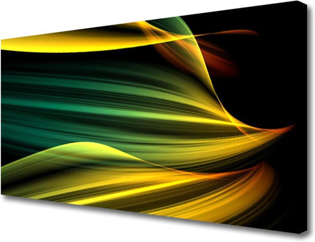 Obraz Canvas Skleněný abstrakce umění