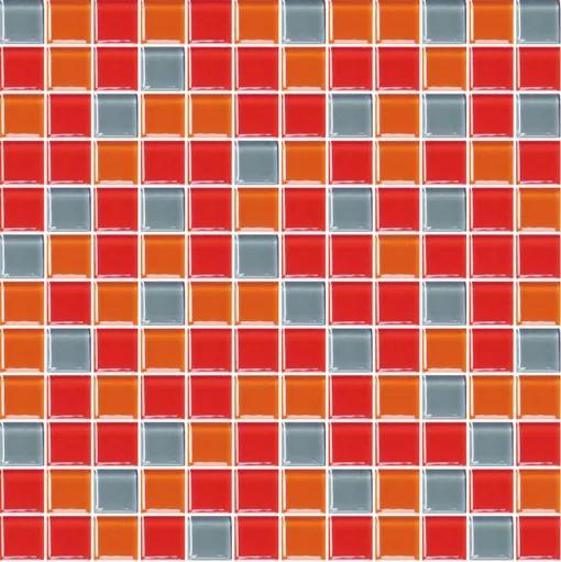 Sklenená mozaika Premium Mosaic vícebarevná 30x30 cm lesk MOS25MIX3