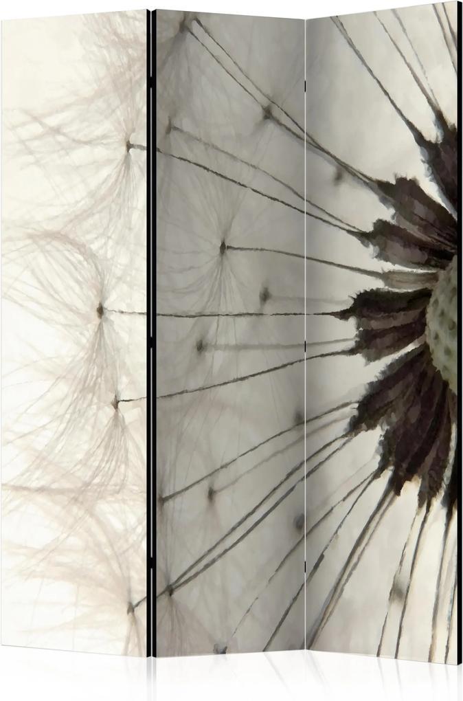 Paraván - White Dandelion [Room Dividers] 135x172 7-10 dní