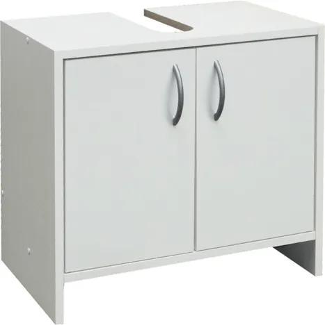 Kúpeľňová skrinka pod umývadlo Multi Praxis 55x33,5 cm biela SKDEMONT