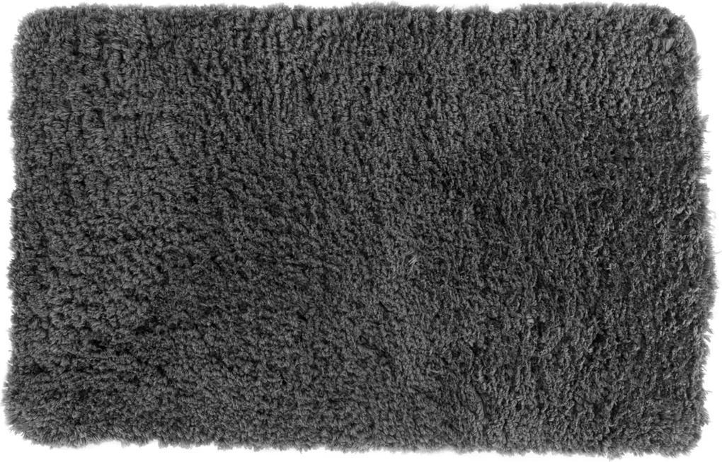 Kúpeľňová predložka z mikrovlákna, antracitová Barva: sivá/antracitová, Velikost: WC 50x40cm