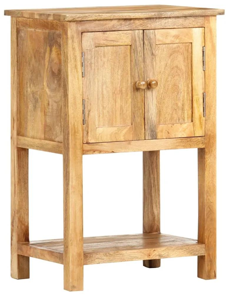 vidaXL Komoda 50x30x75 cm masívne mangovníkové drevo