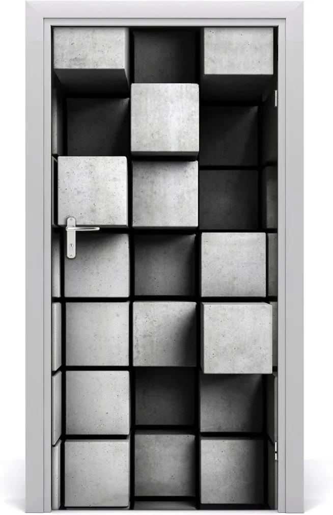 Samolepící fototapeta na dveře Abstrakce