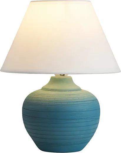 Rábalux 4392 Nočná stolová lampa Molly modrý keramika E14 MAX 40W IP20