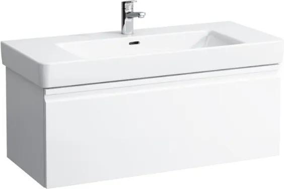 Skrinka pod umývadlo Laufen Pro S 101 cm, biela 8355.1.096.463.1