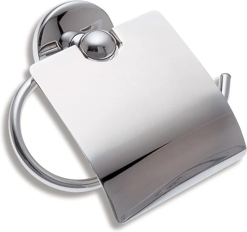 Novaservis Metalia 1 6138,0 držiak toaletného papiera s krytom