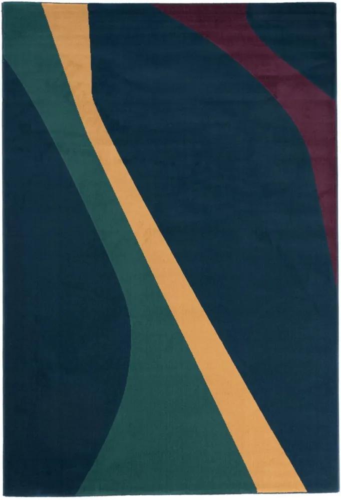 Kusový koberec PP Melisa modrý 120x170, Velikosti 120x170cm