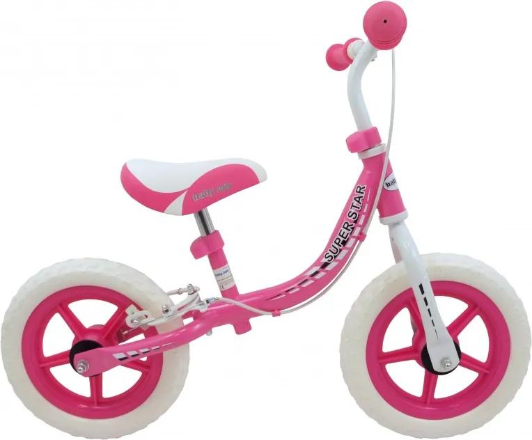 Baby Mix Odrážadlo SuperStar, ružové
