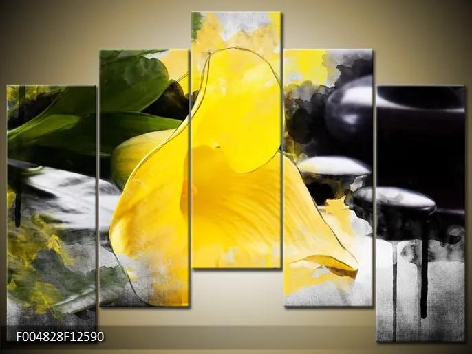Moderné obrazy kvetín
