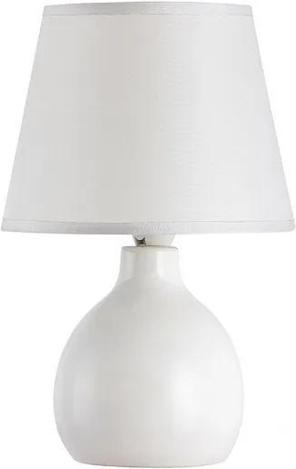 Rábalux 4475 Nočná stolová lampa cream biely E14 1X MAX 40W