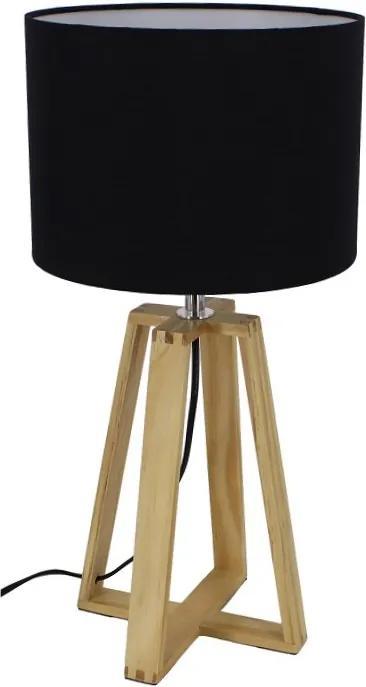 Stolná lampa JADE Typ 3 čierna Tempo Kondela