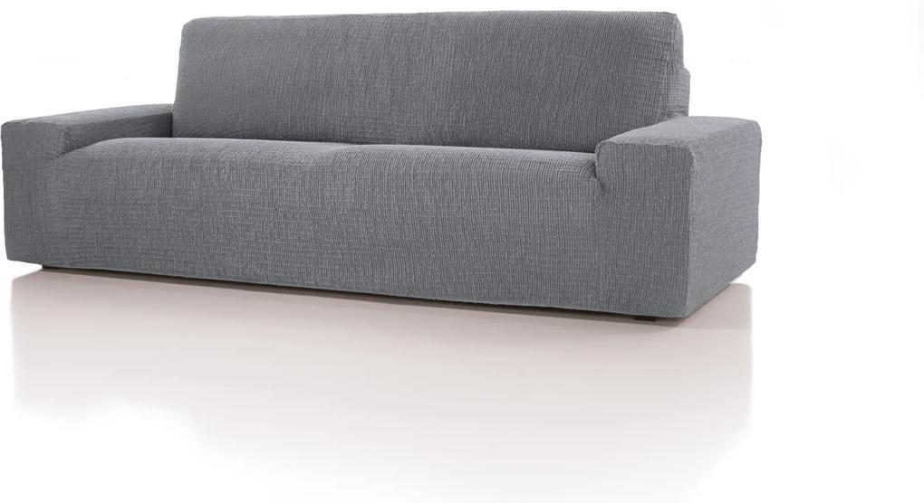 Forbyt, Poťah multielastický, Cagliari, šedý trojkreslo, 180 - 220 cm