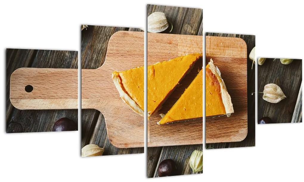 Obraz - Tekvicový koláč (125x70 cm), 40 ďalších rozmerov