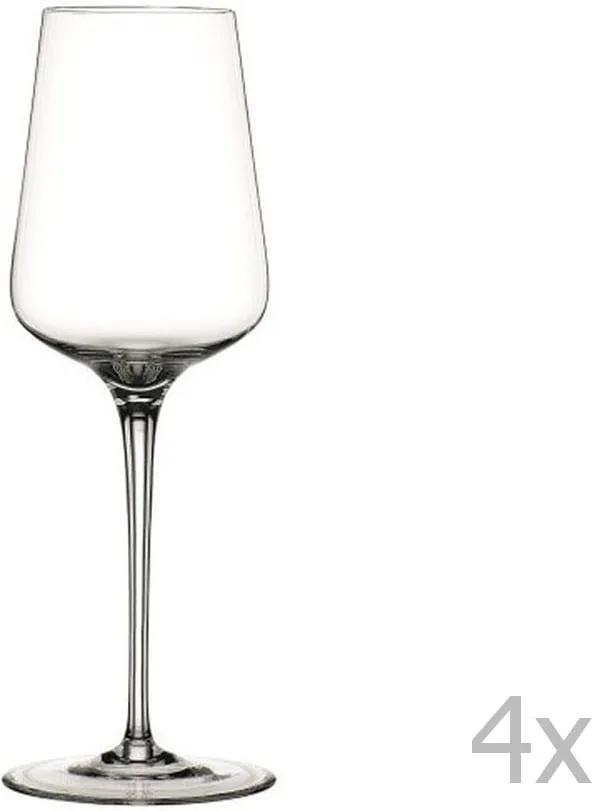 Sada 4 pohárov na biele víno z krištáľového skla Nachtmann Vinova Glass White, 380 ml