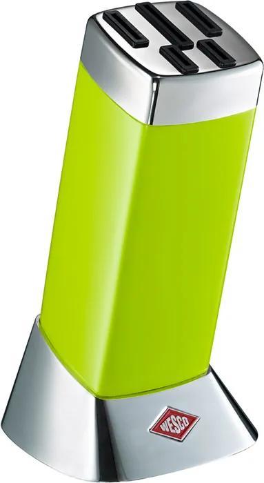 Wesco Blok na nože Classic Line svetlozelený