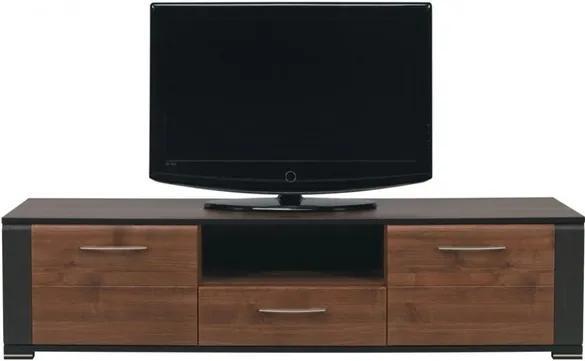 Sconto TV stolík NONA orech/wenge